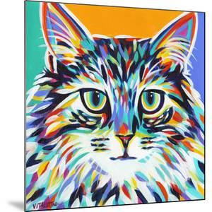 Dramatic Cats I by Carolee Vitaletti