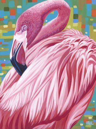 Fabulous Flamingos II by Carolee Vitaletti