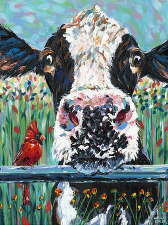 Farm Buddies I by Carolee Vitaletti