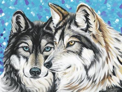 Grey Wolf I by Carolee Vitaletti