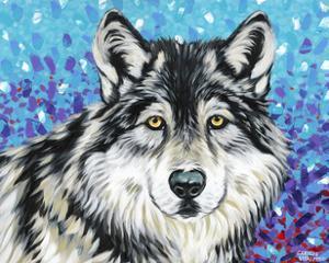 Grey Wolf II by Carolee Vitaletti