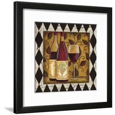 Harlequin and Wine I by Carolee Vitaletti
