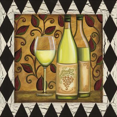 Harlequin and Wine II by Carolee Vitaletti
