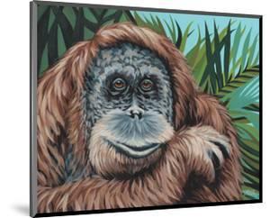 Jungle Monkey I by Carolee Vitaletti