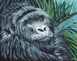 Jungle Monkey II by Carolee Vitaletti