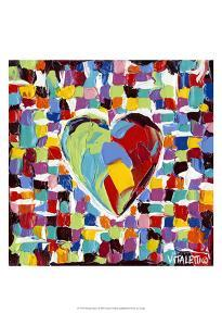 Mosaic Heart I by Carolee Vitaletti