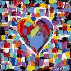 Mosaic Heart II by Carolee Vitaletti