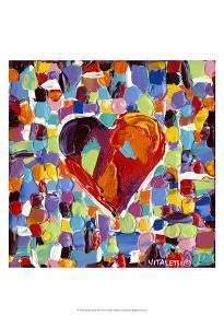 Mosaic Heart III by Carolee Vitaletti