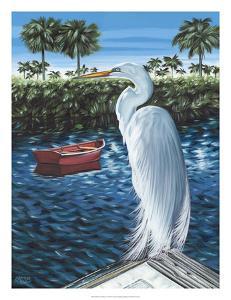 Peaceful Heron II by Carolee Vitaletti