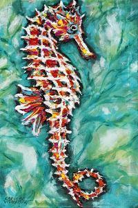 Radiant Seahorse I by Carolee Vitaletti