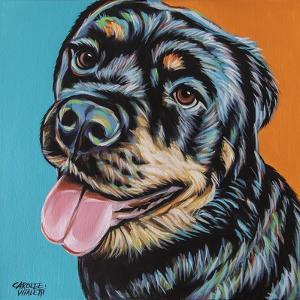 Rottweiler I by Carolee Vitaletti