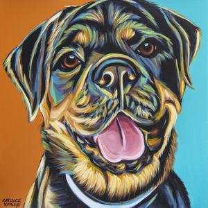 Rottweiler II by Carolee Vitaletti