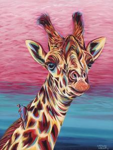 Sky High Giraffe I by Carolee Vitaletti