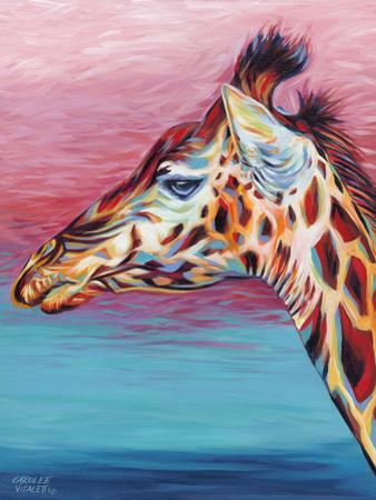 Sky High Giraffe II by Carolee Vitaletti