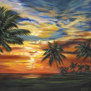 Stunning Tropical Sunset II by Carolee Vitaletti
