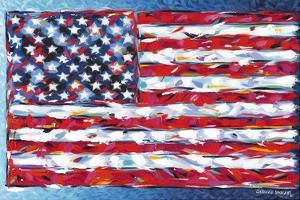 Vibrant Stars & Stripes by Carolee Vitaletti