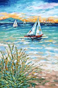 Wind in My Sail I by Carolee Vitaletti