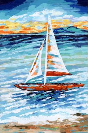 Wind in My Sail II by Carolee Vitaletti