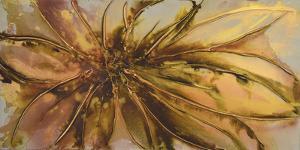 Gold Lotus I by Caroline Ashwood