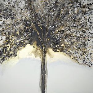 Winter Tree Lights by Caroline Ashwood