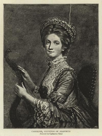 Caroline, Countess of Seaforth--Giclee Print