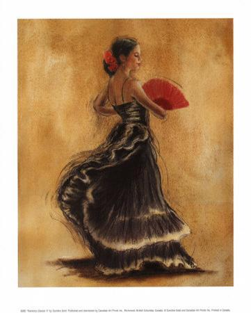 caroline-gold-flamenco-dancer-ii