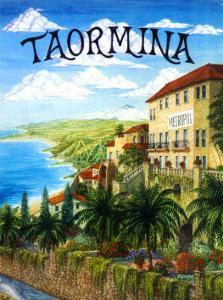 Taormina, Sicily, Italy by Caroline Haliday