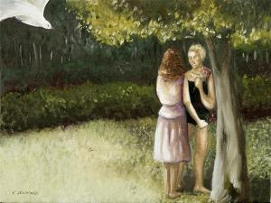 Forest Annunciation, 1, 2005 by Caroline Jennings