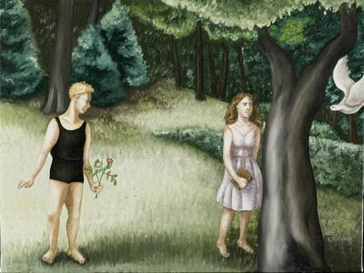 Forest Annunciation, 2, 2006