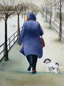 Jardin Des Tuileries, Winter by Caroline Jennings
