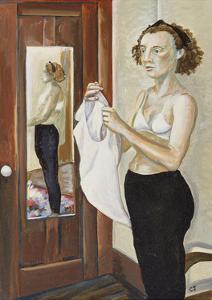 Self Portrait by Caroline Jennings