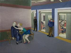 Subterranean, Study by Caroline Jennings