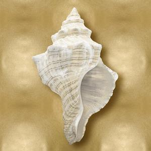 Ocean Gem on Gold I by Caroline Kelly