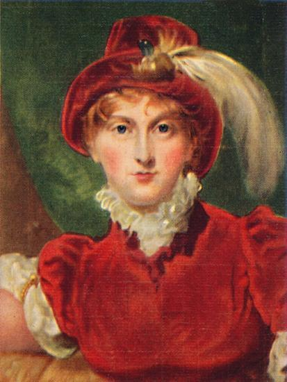 'Caroline of Brunswick', 1935-Unknown-Giclee Print