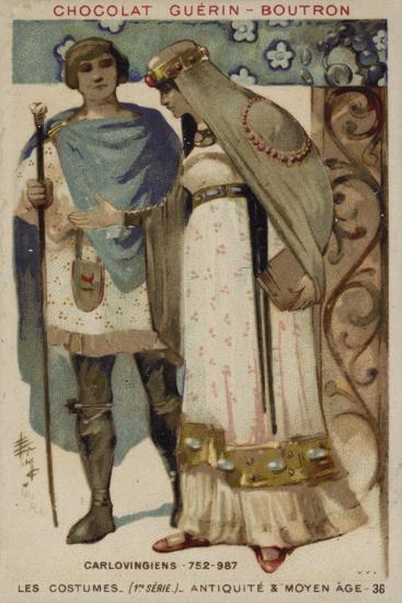 Carolingian Costumes--Giclee Print