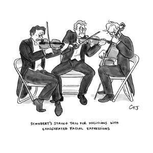 New Yorker Cartoon by Carolita Johnson