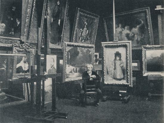 'Carolus Duran in his Studio', c1897-Unknown-Photographic Print
