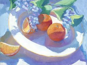 Fruit Platter I by Carolyn Biggio
