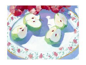 Fruit Platter II by Carolyn Biggio