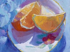 Fruit Slices I by Carolyn Biggio