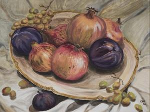 Autumn Fruits, 1992 by Carolyn Hubbard-Ford