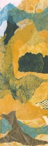 Mountain Shapes I by Carolyn Roth