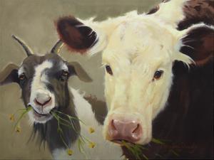 Farm Pals I by Carolyne Hawley