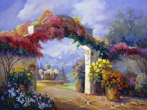 Garden Peace by Carolyne Hawley