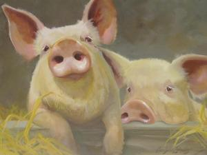 Life as a Pig II by Carolyne Hawley