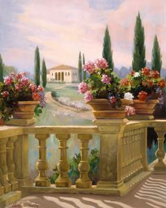 Tuscany Morning by Carolyne Hawley
