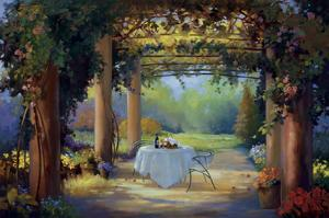Vino al Fresco by Carolyne Hawley