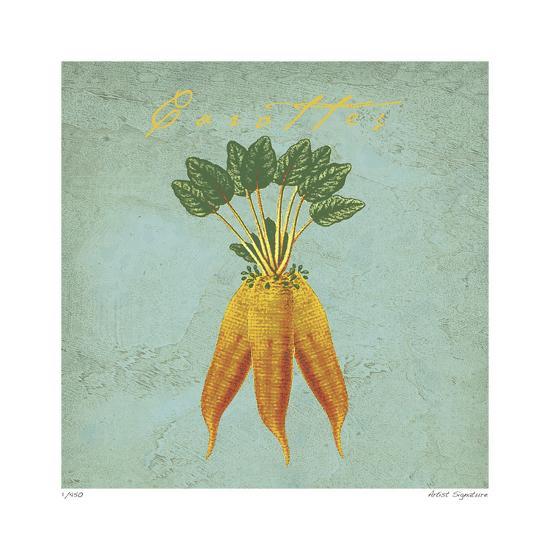 Carottes-Paula Scaletta-Giclee Print