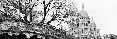 Carousel 18th century - Sacr?-C?ur Basilica - Montmartre - Paris - France-Philippe Hugonnard-Photographic Print