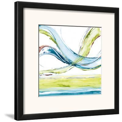 Carousel III-Michael King-Framed Art Print